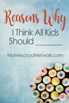 IHN Reasons Why I Think All Kids Should