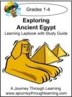 Exploring Ancient Egypt Learning Lapbook with Study Guide