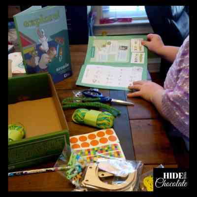 This Year's 4th Grade Curriculum Choices: Tinker and Kiwi Crate