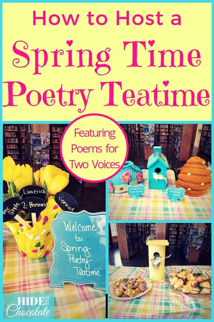 Spring Time Poetry Teatime PIN 2