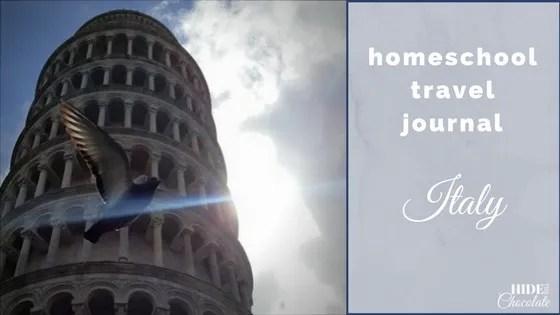 Homeschool Travel Journal- Italy