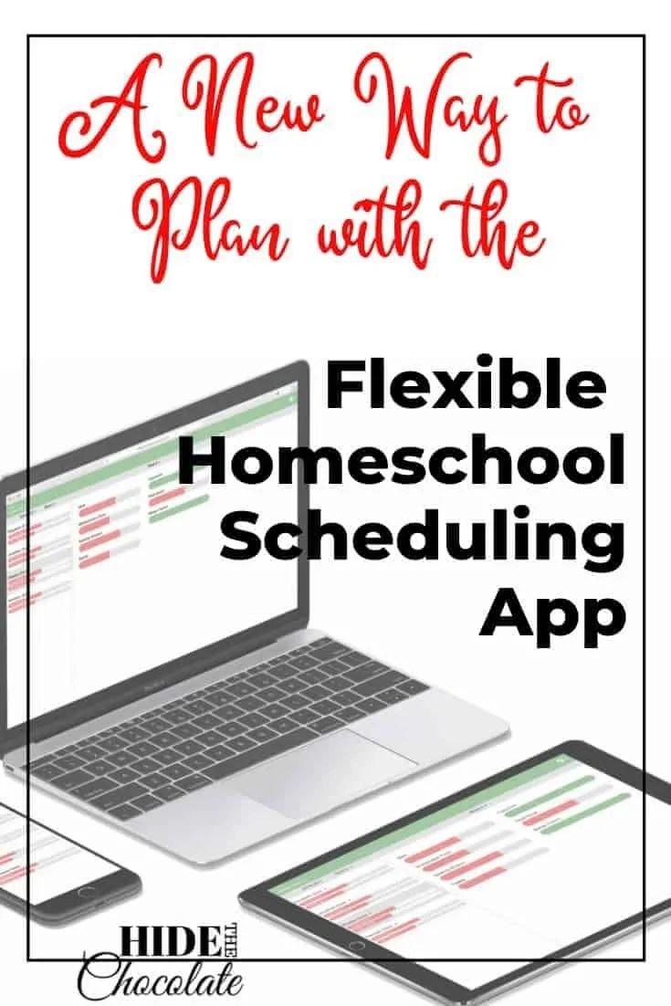 Flexible Homeschool Scheduling App PIN