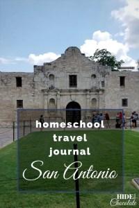 Homeschool Travel Journal- San Antonio