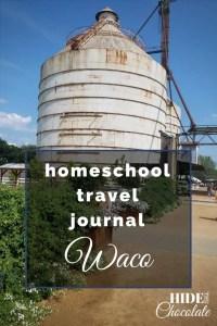 Homeschool Travel Journal- Waco