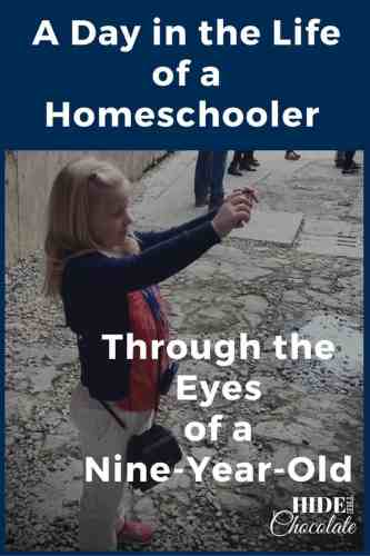 A Day in the Life of aNine-Year-OldHomeschooler