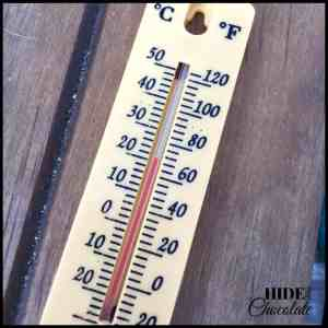 Day in the life of a nine-year-old homeschooler- Science Thermometer