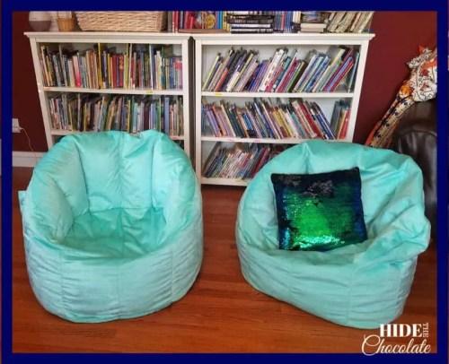 Homeschool Room- Bean bags