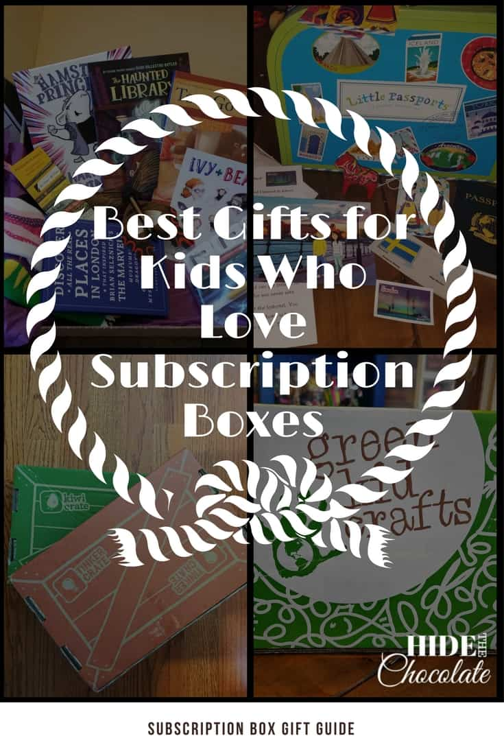 Gifts for Kids Who Love Subscription Boxes