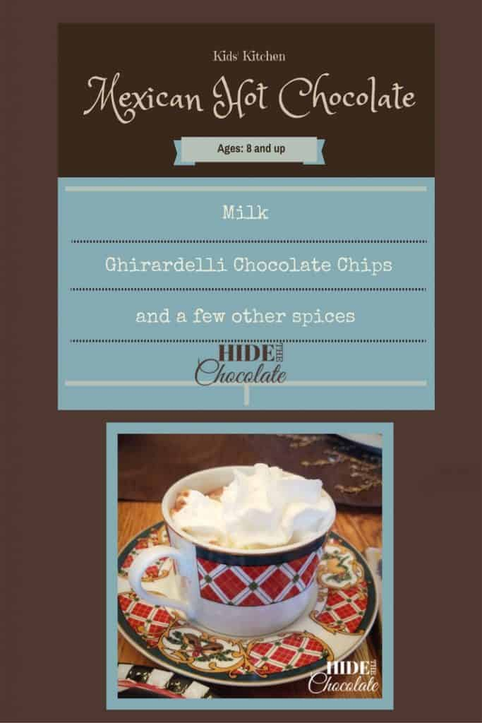 Kids Kitchen- Mexican Hot Chocolate