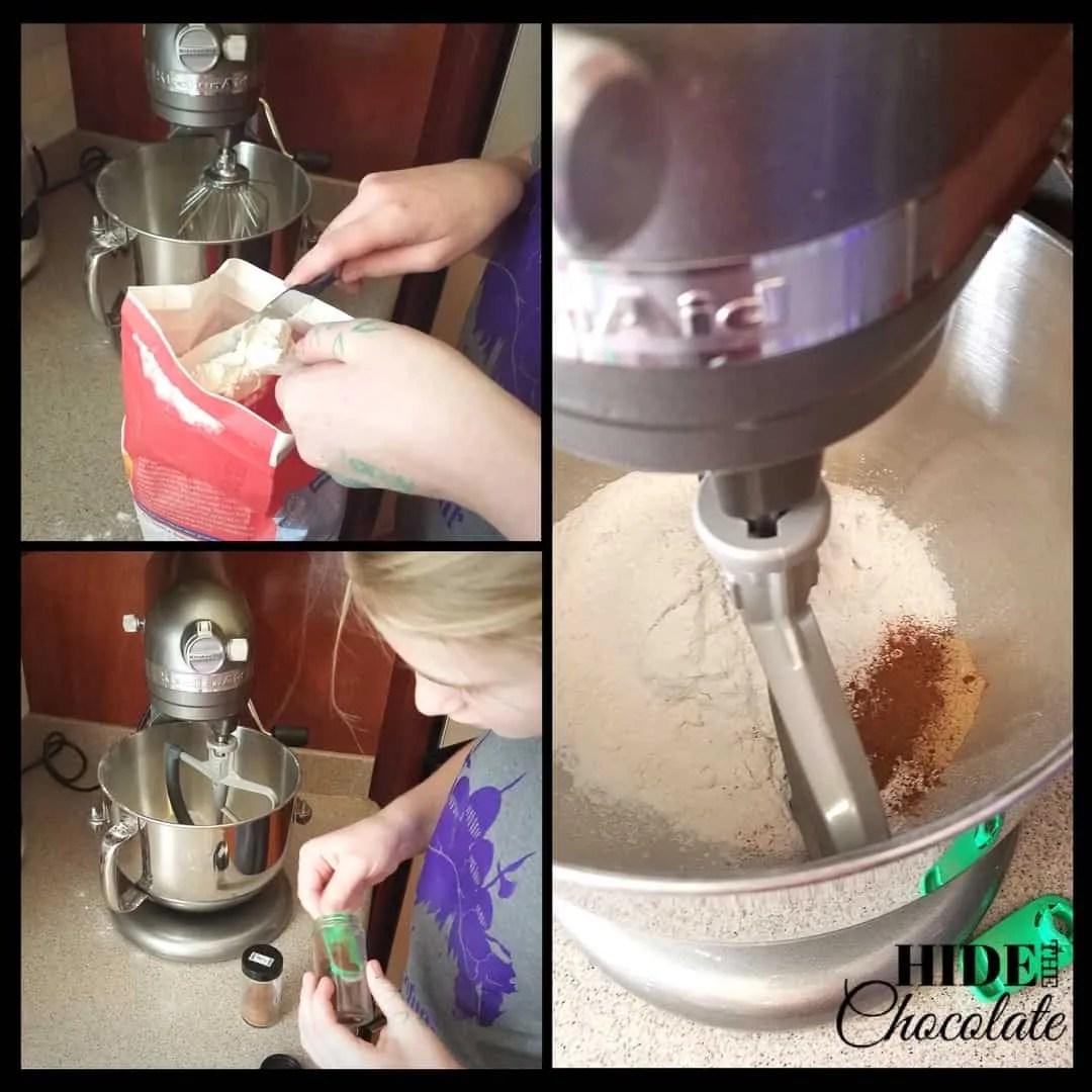 Pryaniki - Flour Mixture
