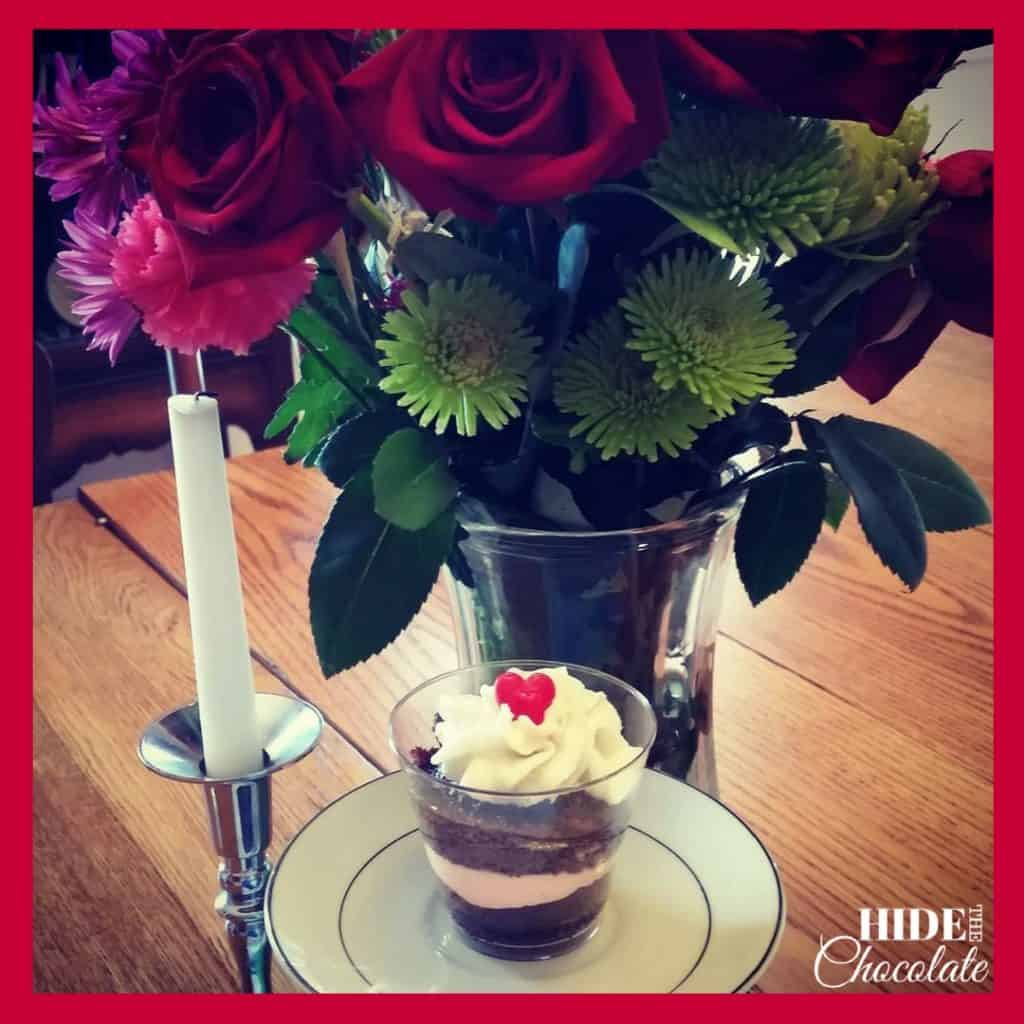 Valentine Poetry Teatime Cupcake