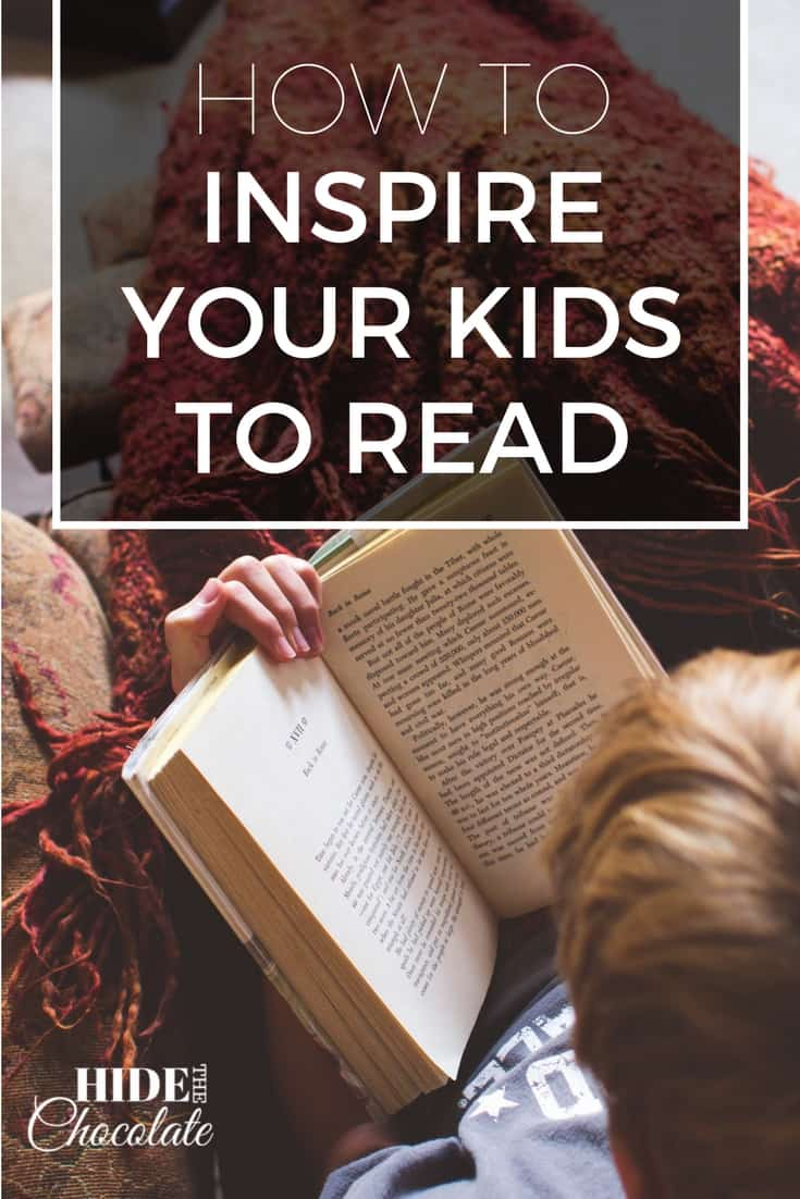 How to Inspire Your Kids to Read