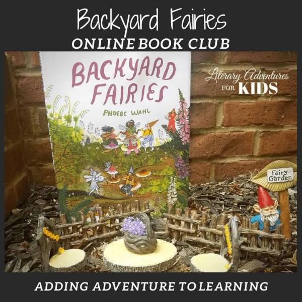 Backyard Fairies Online Nature Book Club