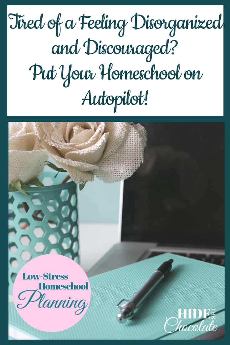 I want my homeschool to run smoothly. I spend days and weeks planning all these great things we are going to do, and then a little hiccup can throw things off and put me in a tailspin. I want to have a smooth routine that rolls with the punches but also keeps us on on task. I want to put my homeschool on autopilot, so we don't lose momentum and we have a successful year. #homeschooling #homeschoolonautopilot