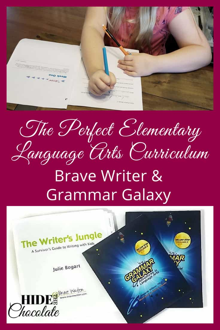 The Perfect Elementary Language Arts Curriculum: Brave Writer and Grammar Galaxy
