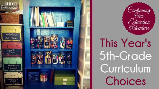This Year's 5th Grade Curriculum Choices
