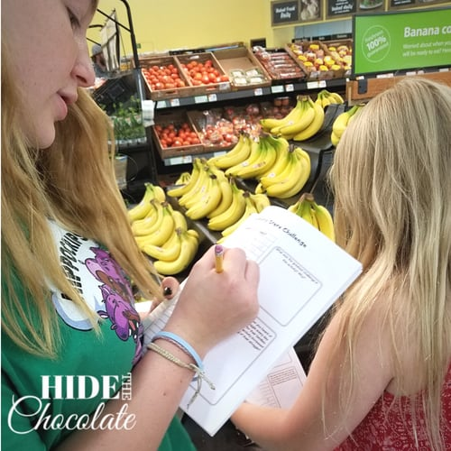 Be The Hands Homeschool Bible Curriculum Students in Grocery