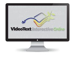 VideoText Algebra 9th-grade homeschool curriculum