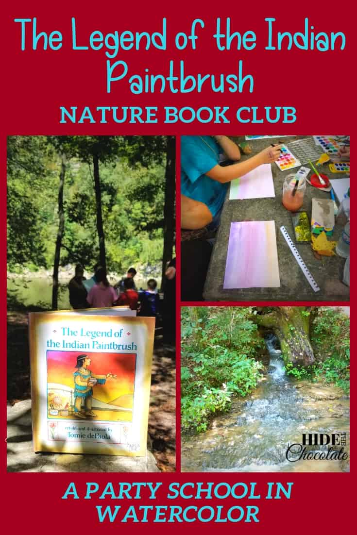 The Legend of the Indian Paintbrush Book Club