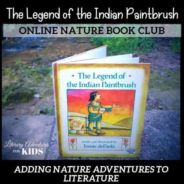The Legend of the Indian Paintbrush Online Book Club