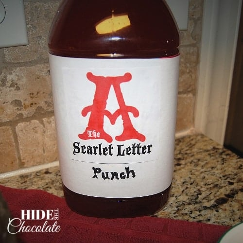 The Scarlet Letter Punch