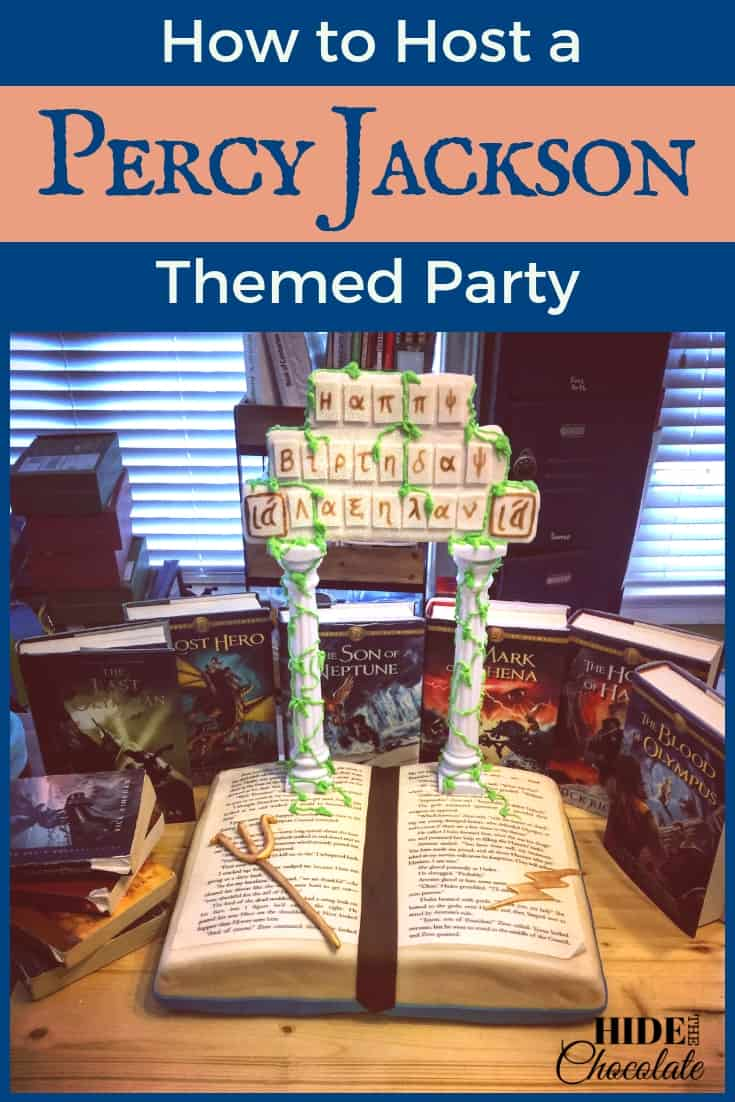 When my daughter requested a Percy Jackson themed party for her 11th birthday the homeschool mom in me got a little giddy about combining a birthday party with awesome literature! #homeschooling