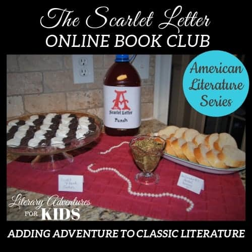 The Scarlet Letter Online Book Club American Classic Literature Series