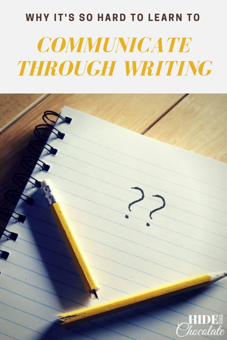 Why It's So Hard to Learn to Communicate through Writing