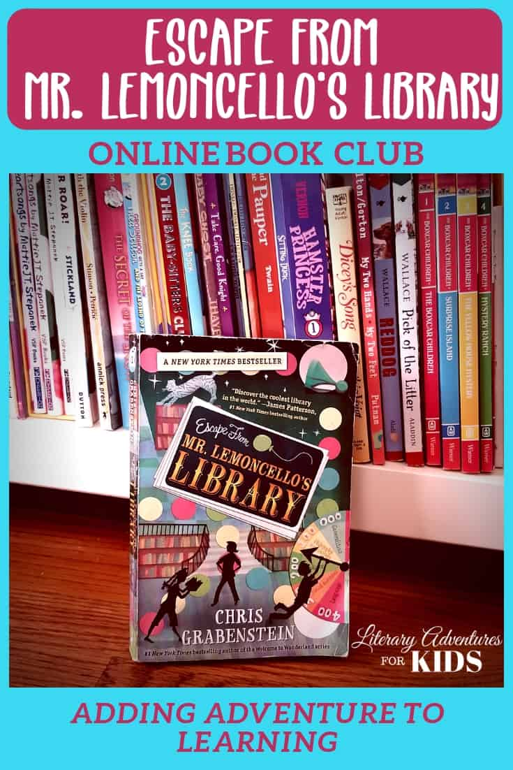 Escape from Mr. Lemoncello's Library Online Book Club for Kids ~ A Novel Adventure