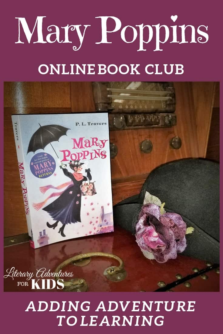 Mary Poppins Online Book Club for Kids ~ A Novel Adventure