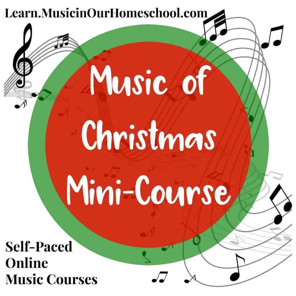 Music of Christmas Mini-Course square graphic