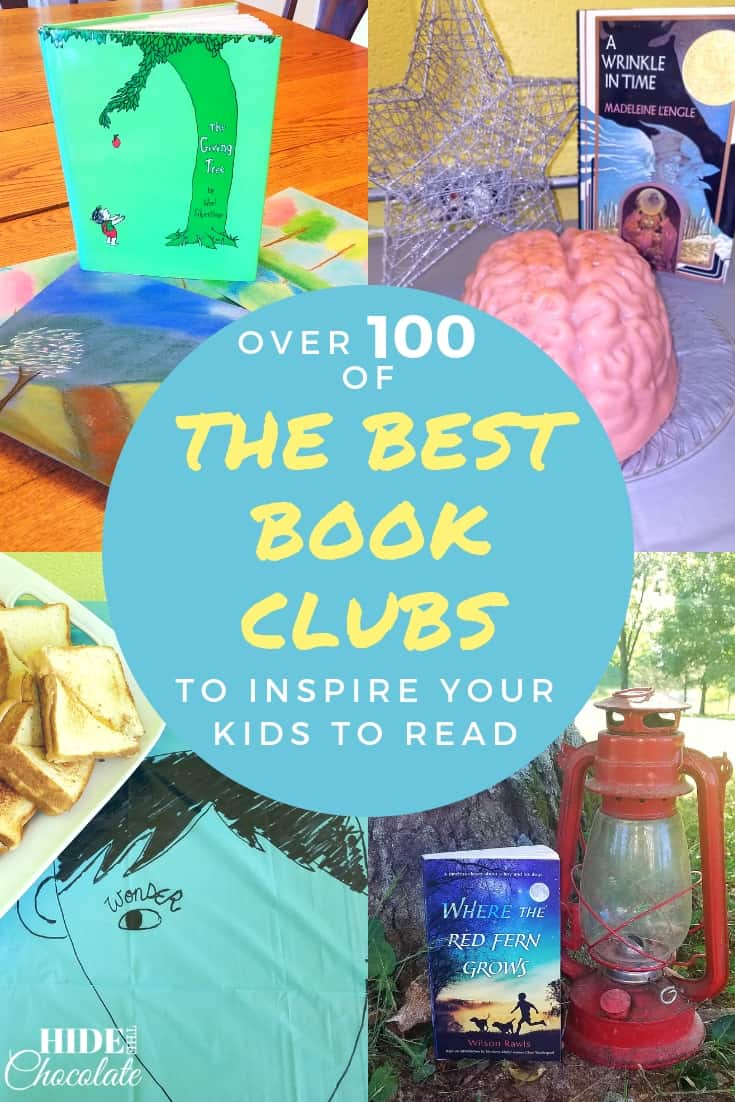 Are you wanting to inspire your kids to read? Here are over 100 of the best book clubs I've found to inspire your kids to read (and also have a lot of fun!). #bookclub #la4k #hoomeschooling #kidsbookclub