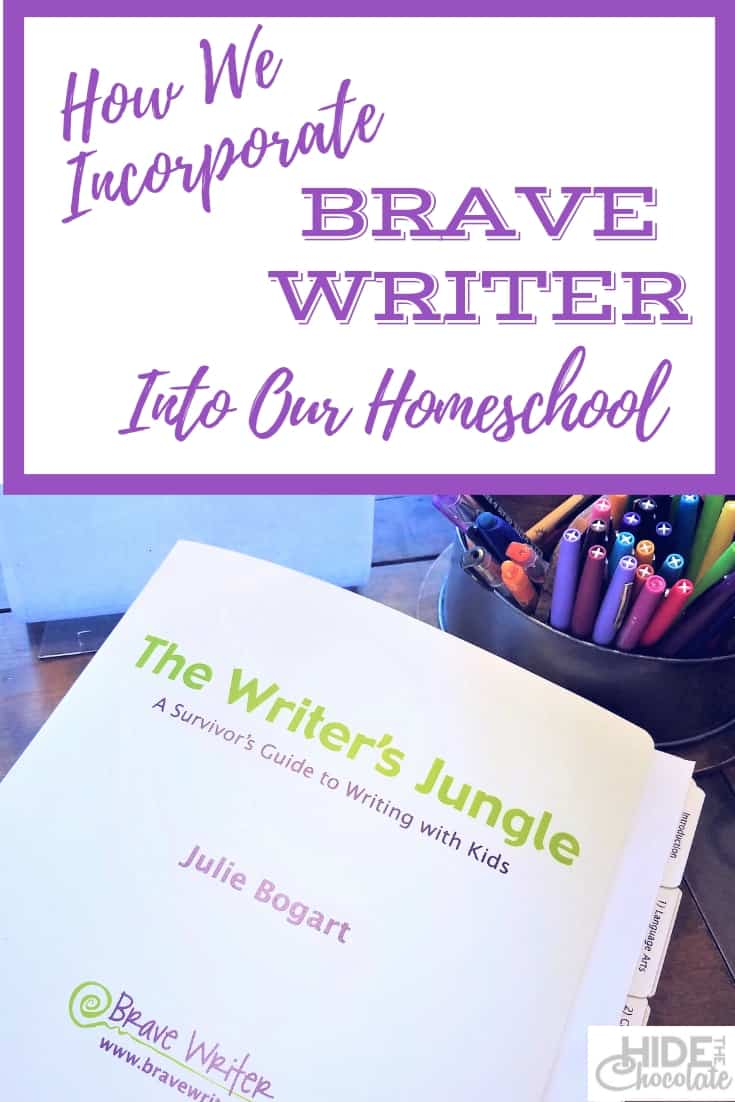 How We Incorporate Brave Writer Into Our Homeschool