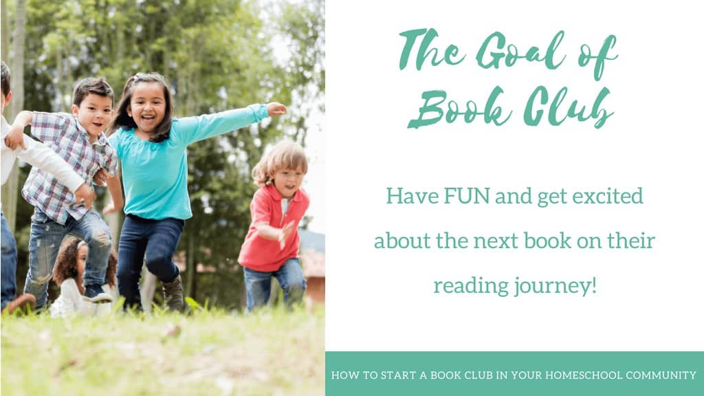 The Goal of Book Clubs for Kids