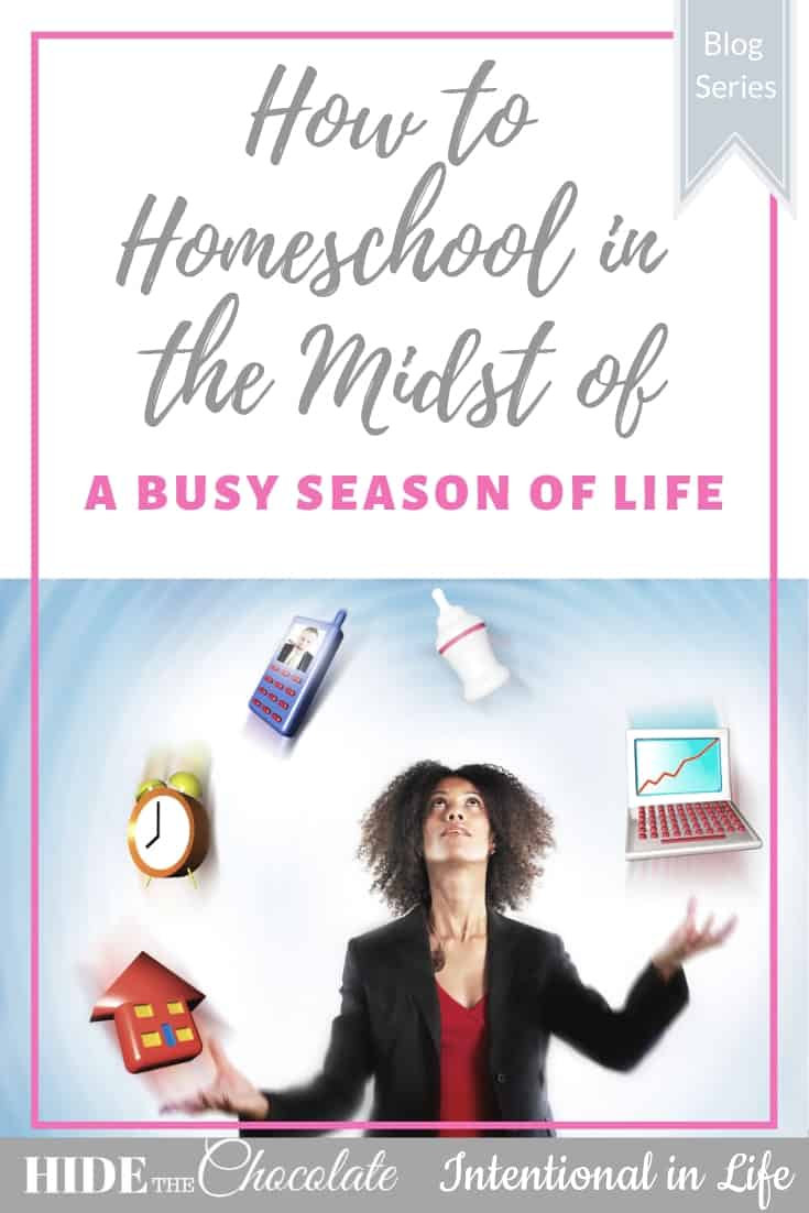 How to Homeschool in the Midst of a Busy Season of Life