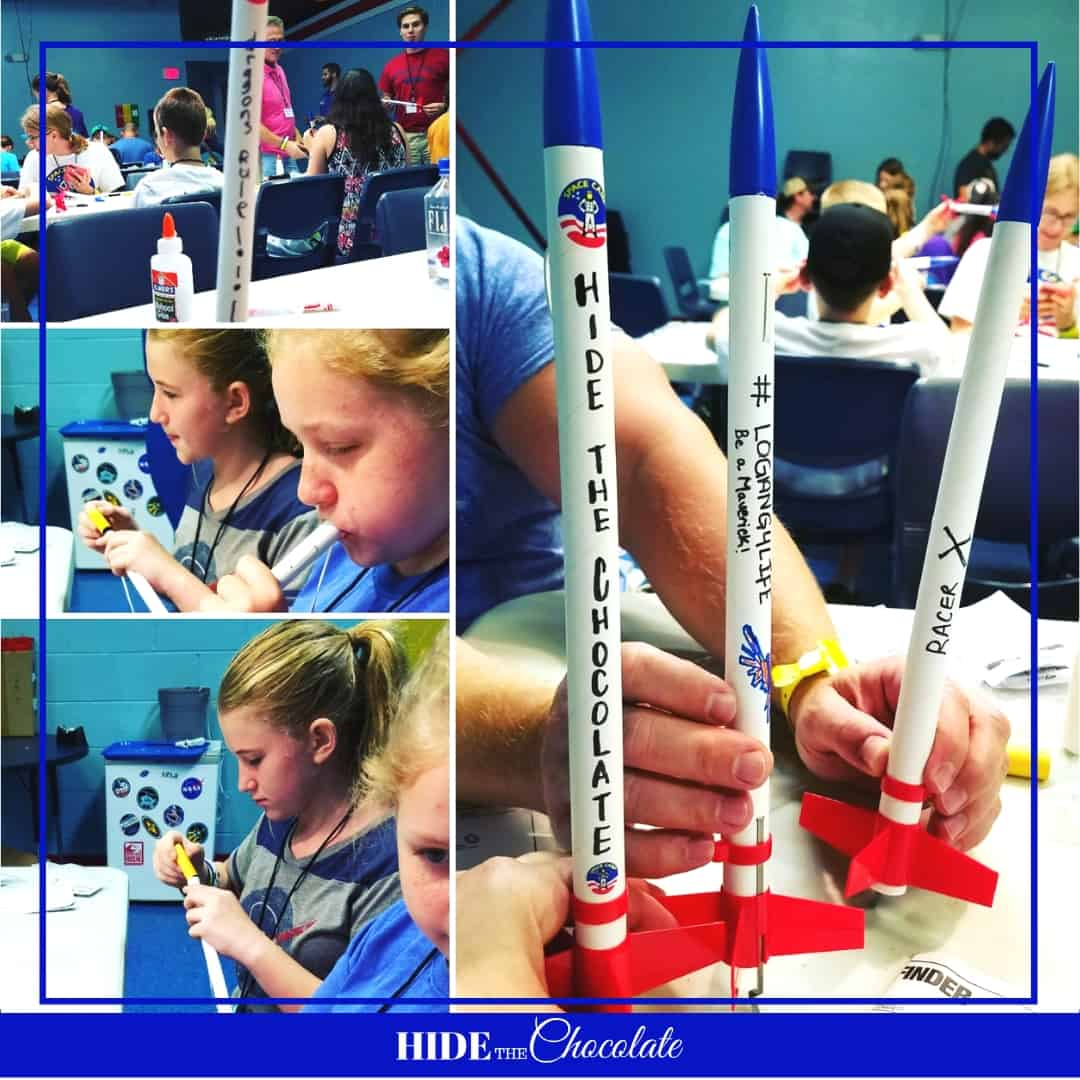 Space Camp Nature Book Club-Rocket Building
