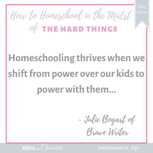 How to Homeschool in the Midst of Family Hurt Quote