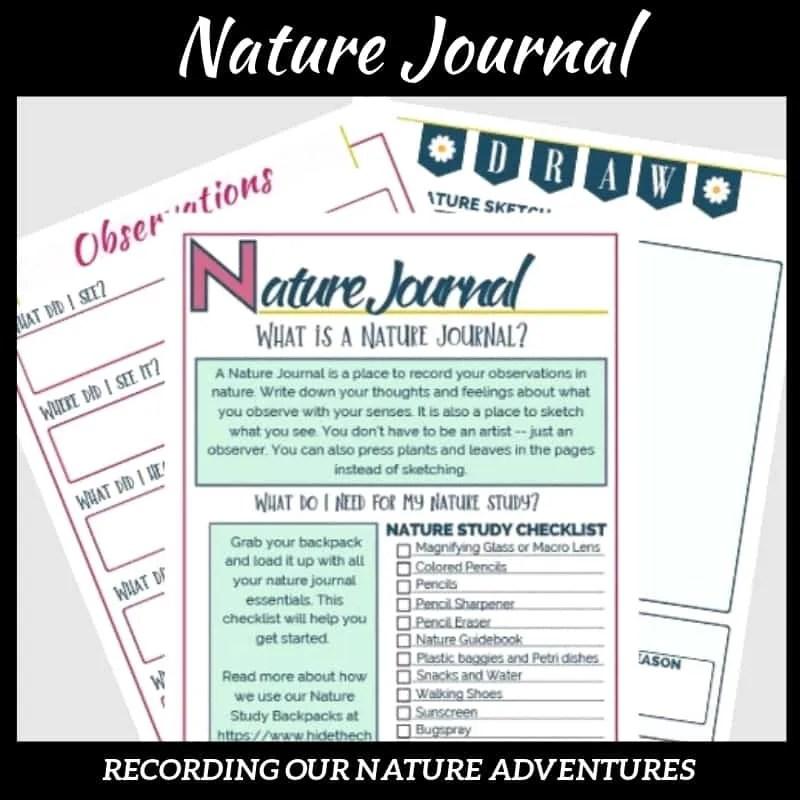Nature Journal American Classic Literature Series