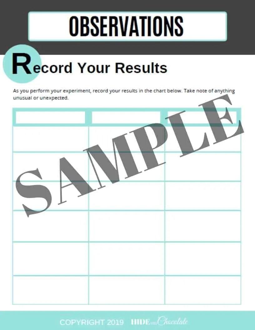 Scientific Method Worksheet Sample (1)