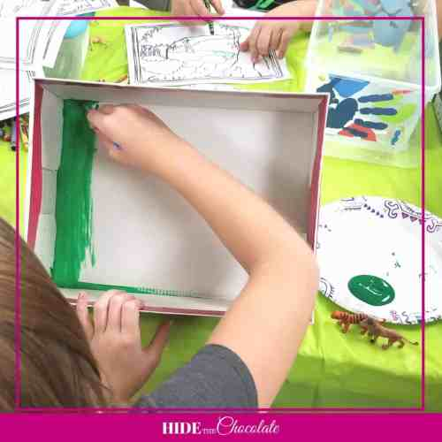 A House is A House for Me Nature Book Club-Biome Painting
