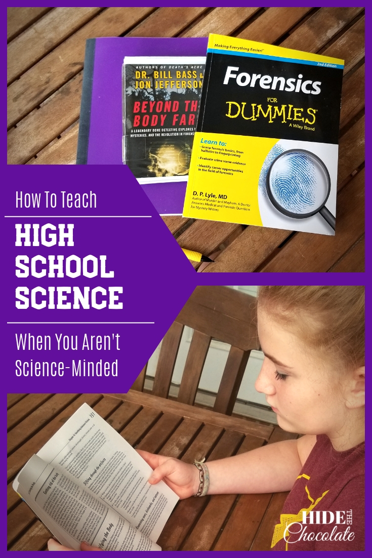 How to Teach High School Science When You Aren\'t Science-Minded