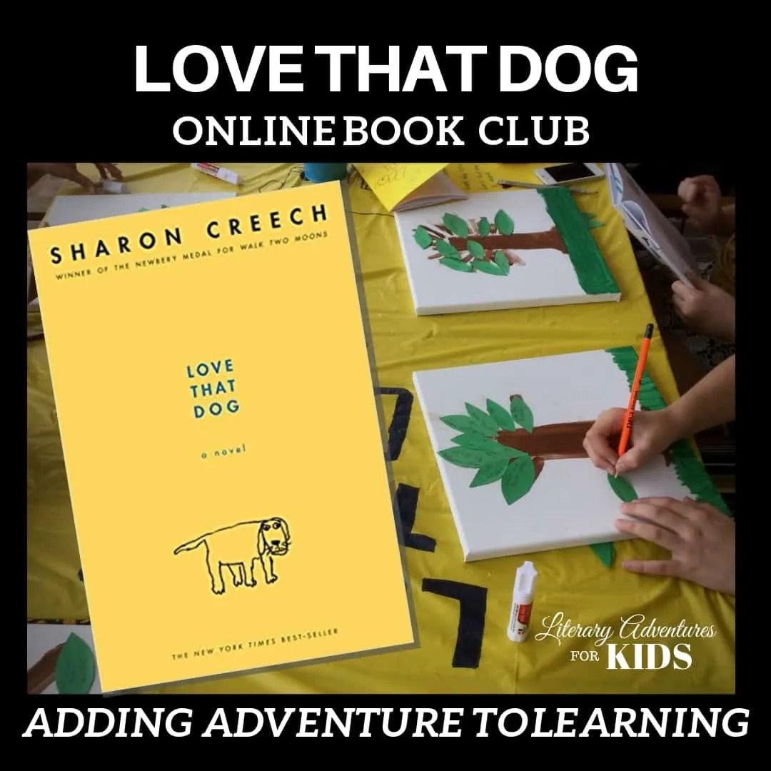Love That Dog Online Book Club Woo