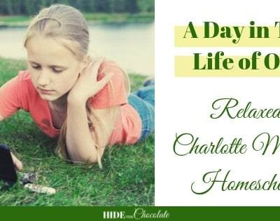 A Day in The Life of Our Relaxed Charlotte Mason Homeschool Featured
