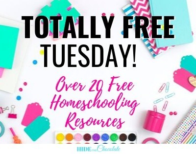 Free Resources for Homeschool from Bloggers You Love