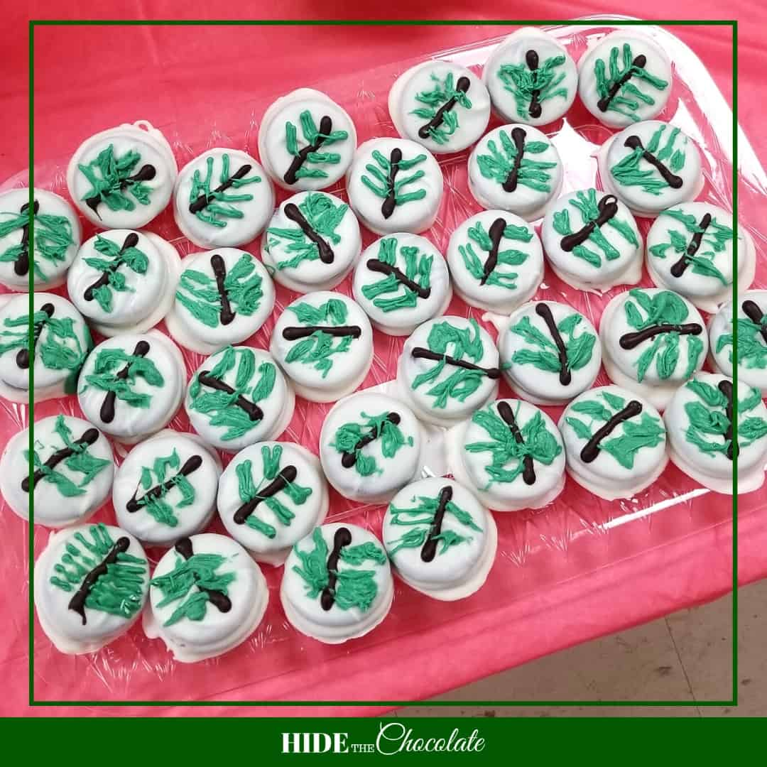 Mr. Willowby's Christmas Tree Nature Book Club - Christmas Tree Cookies