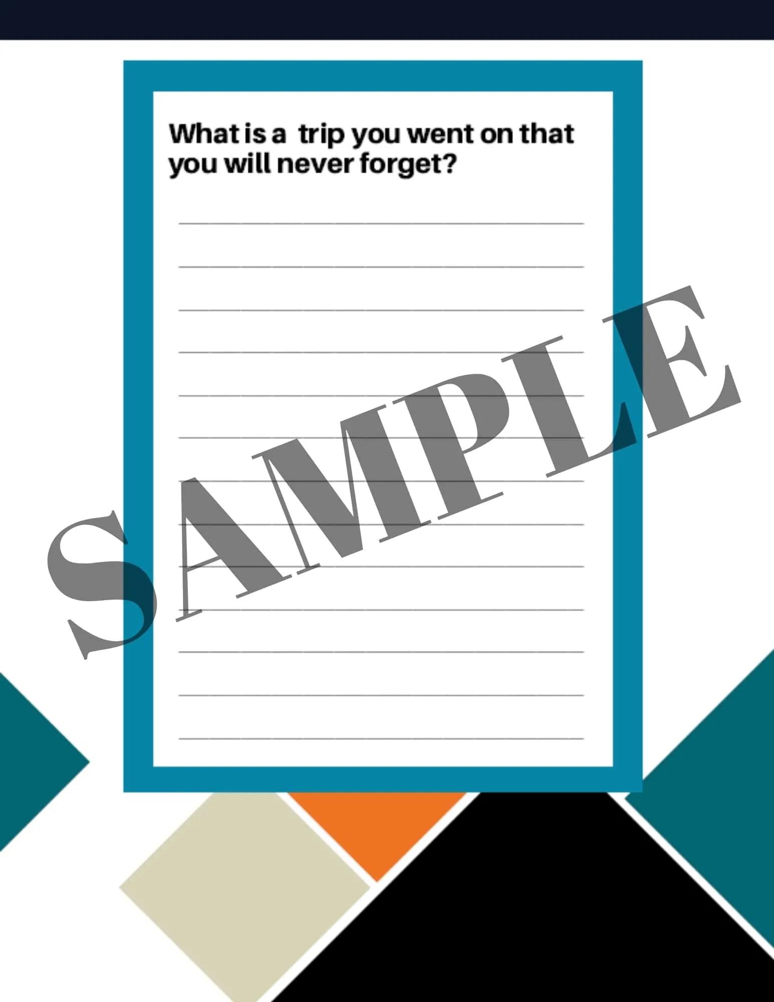 Journal Through The Year Sample 3