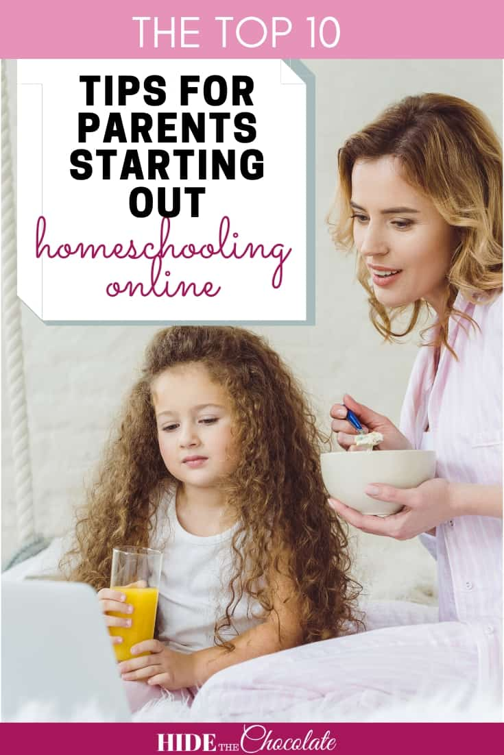 Homeschooling Online ~ Ten Tips for Parents Just Starting Out