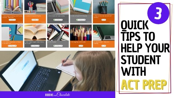 Three Quick Tips To Help Your Student with ACT Prep