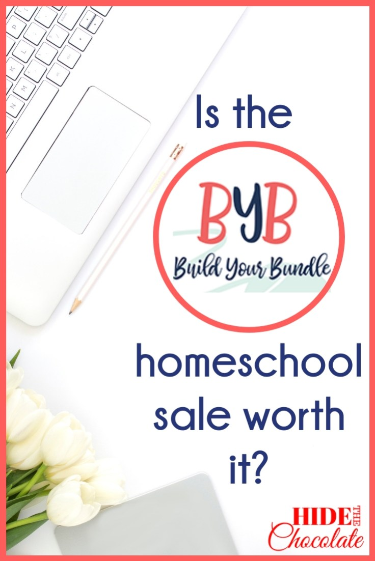 Is the Build Your Bundle homeschool sale worth it PIN