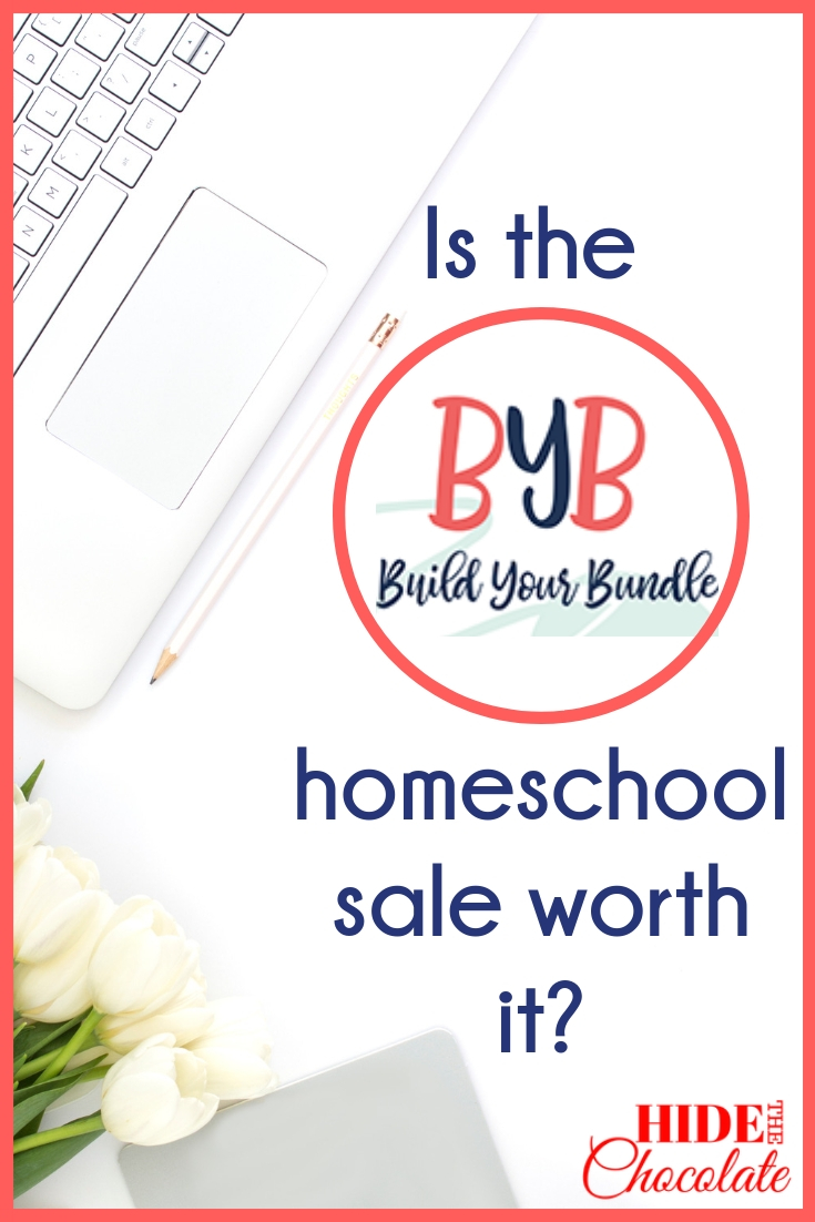 Is the Build Your Bundle homeschool sale worth it?